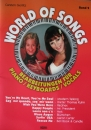 WORLD OF SONGS 2 - PIANO KEYBOARD VOCALS
