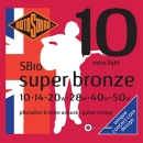 Satz Rotosound Super Bronce (Contact Core)