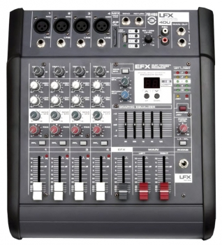 Leem LFX4DU Power Mixer 4K/200W