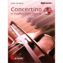 Concertino in russian style Opus 35/CD